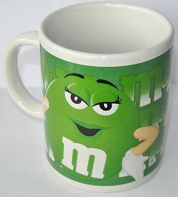 COFFEE MUG - Kaffeetasse * M&M´S * grün - US Import 2002