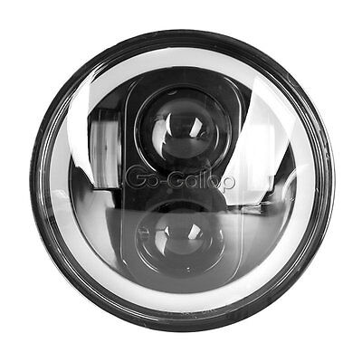 5.75 LED Projector Daymaker Headlight Halo Ring Fit Harley Sportster XL 1200 883