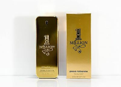 Paco Rabanne One 1 Million Eau de Toilette Spray 200 ml NEU OVP