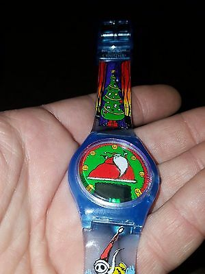 NBX Nightmare Before Christmas Tim Burton Burger King Premium Digital Watch