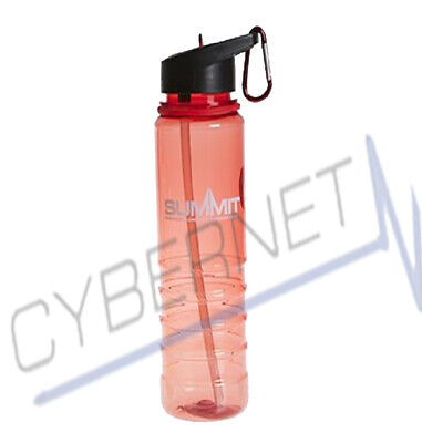 Flip Straw Tritan Drinks Sport Hydration Water Bottle Cycling Hiking camping Gym