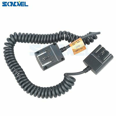 Godox 3M TTL Off Camera Hot Shoe Flash Sync Cable Cord For Sony Flash Speedlite