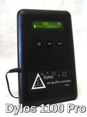 Dylos 1100 Pro Best Selling Air Quality Monitor with Particle Counter