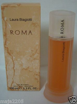 Laura Biagiotti Roma 100 ml Eau de Toilette Spray, Neu