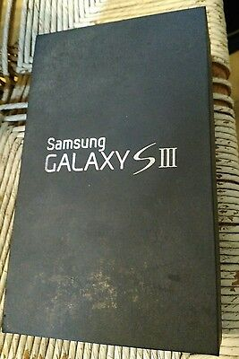 Samsung Galaxy S3 BOX ONLY with manuals no phone