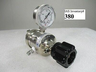 Veriflo DSG750S7PV3304 Regulator Inlet 3000 PSI (used working)