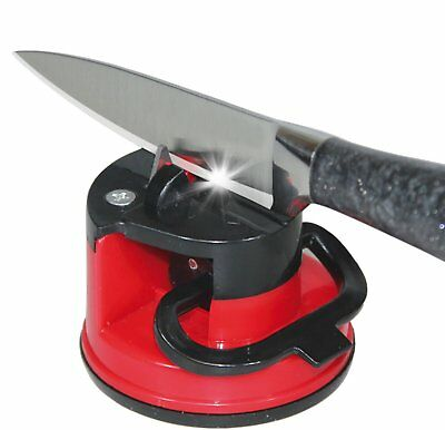 Safety Sharpener Whetstone Grinder Suction Chef Pad Kitchen Tool for Knives New