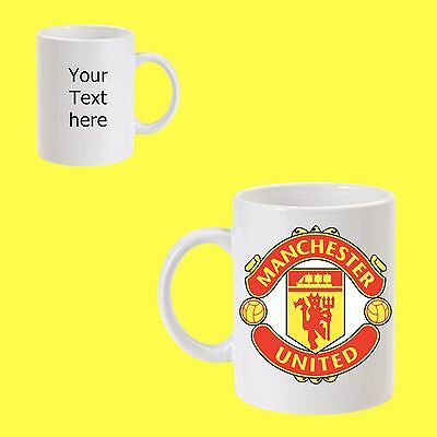 manchester united football Club mug 11oz personalised gift