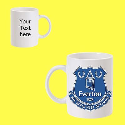 Everton football Club mug 11oz personalised gift