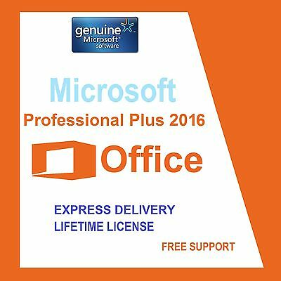 Microsoft Office Professional Plus 2016 32/64Bit License Key- Scrap Pc