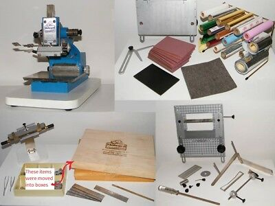 Howard Personalizer Imprinting Machine / Hot Foil Stamping . Includes Typesets +