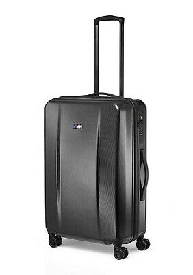 BMW Genuine M Collection Hard Shell Locking Spinner Travel Suitcase 80222410937