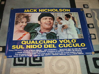 6 VINTAGE ONE FLEW OVER THE CUCKOO'S NEST -JACK NICHOLSON- POSTERS 26.5X16in