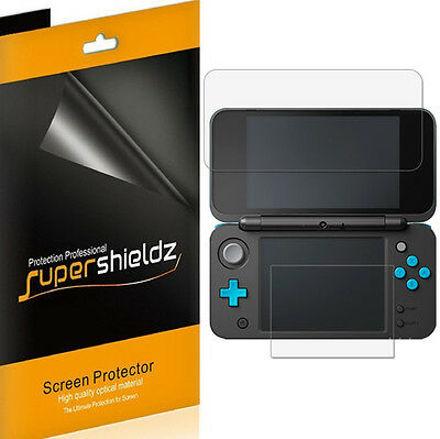 3X Supershieldz Clear Screen Protector Saver for Nintendo 2DS XL