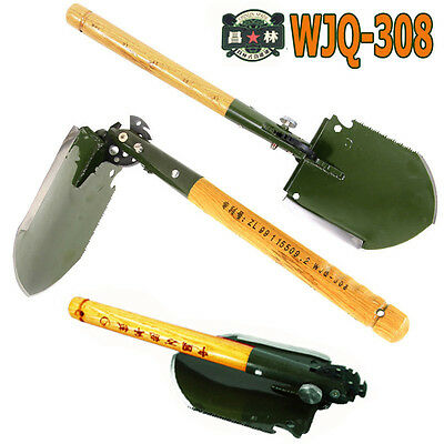 New 2017 WJQ-308  Chinese Military Shovel Multi Function Survival Tool