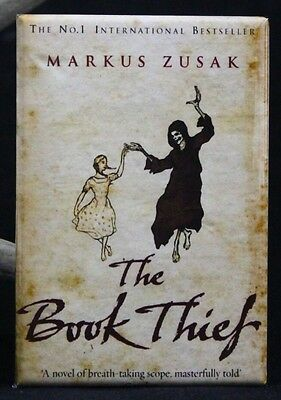 "The Book Thief 2"" X 3"" Fridge / Locker Magnet. Markus Zusak"
