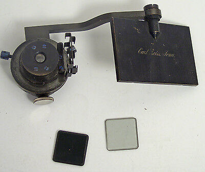 Antique Zeiss no. 44 Abbe-Type Microscope Camera Lucida