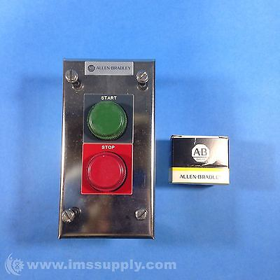 Allen Bradley 800H-2Ha4T Push Button Station Start/stop Fnfp