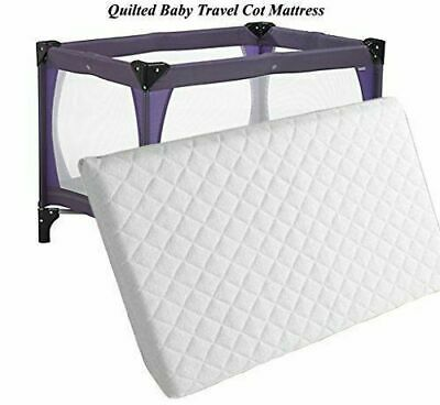 Soft Quilted Breathable Crib / Baby Toddler Cot Bed Mattress Nursery All Sizes