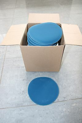 10 x 6 INCH DA SANDING DISCS WITH QUALITY HOOK & LOOP BACKING NO HOLES 150MM