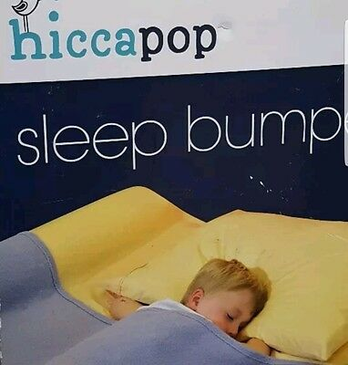 Hiccapop Sleep Bumper 2-6 Years 1 Pack with Waterproof Cover/ Non-Skid Bottom
