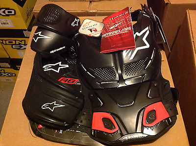 Alpinestars A8 Body protector 2X-4X Black