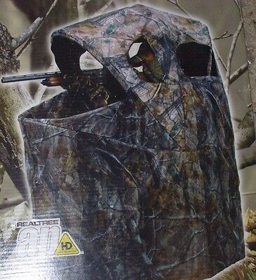 Wild Game Ameristep Tent Chair Blind Hunting Deer Turkey Camo Cover Realtree HD