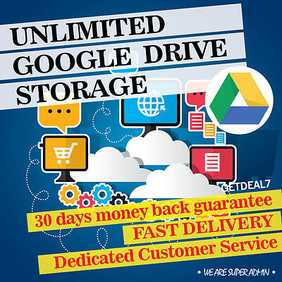 Google Unlimited Storage for Lifetime   1 Account DEAL
