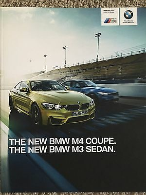 2015 BMW M4 Coupe and M3 Sedan Sales Brochure