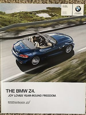 2011 BMW Z4 Convertible Sales Brochure