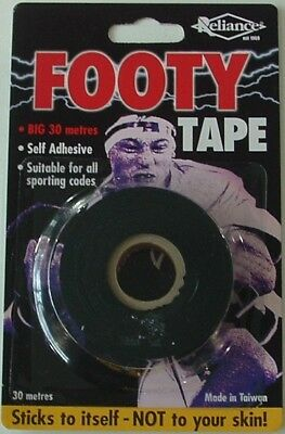RELIANCE FOOTY TAPE FOR BOOTS/SOCKS 30m ROLL *NEW*