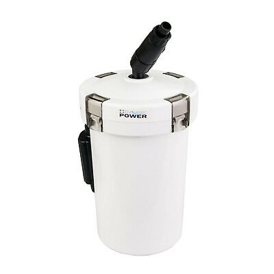 Aquarium External Canister Filter Aqua Fish Water Tank Sponge Pond 400L/H