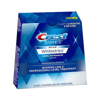 $2 Off Monday!~Crest 3D Whitestrips Professional Effects~10 Strips=5 Treatments!
