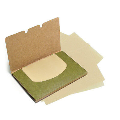 SOMMER 100 Sheets Oil Blotting Paper Facial Makeup Clean oil-absorbing papers