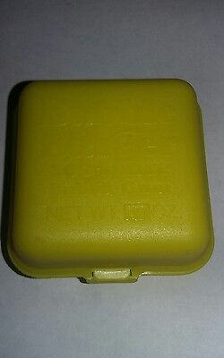 Vintage 1978 Fleer Yellow BUBBLE BURGER Gum candy novelty topps candy inside