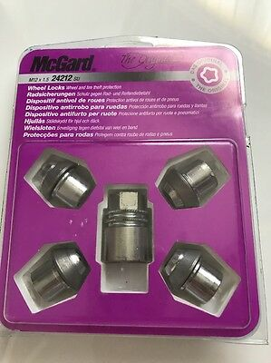 Wheel Locks  Set 4 Pieces Key M12x1.5 32.5mm - McGard 24212SU