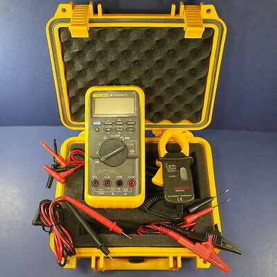 Fluke 787 Processmeter & Mastech MS3302 Current Probe, GREAT, Hard Case, More