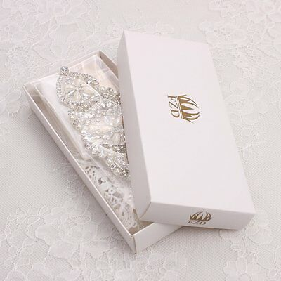 wedding bridal sash belt applique with rhinestones and pearls-hot fix beaded New