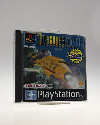 Sony Playstation PS1 - Spiel | Treasures of the Deep | inkl. OVP | sehr gut