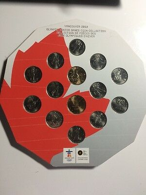 Canada Olympic Coin Set 2008-2010 (14 Coins)