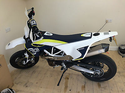 Husqvarna 701 Supermoto 2017/ 66 REG ONLY 80 MILES FROM NEW 1 OWNER