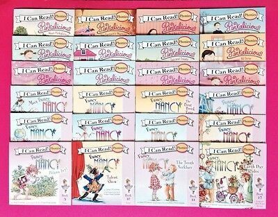 Pinkalicious Fancy Nancy Phonics Fun Beginning Readers Childrens Books Lot 24