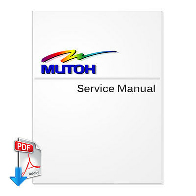 MUTOH RockHopper II (Falcon Outdoor Jr II) Series Service Manual - PDF File