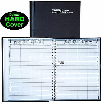 2018 hod28292 house of doolittle 4 person daily appointment book 8x11 hard cover