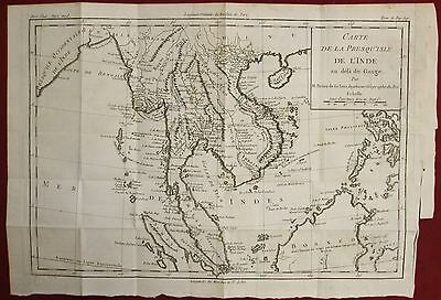 Southeastern Asia Borneo Sumatra East Indies  1780 Brion De La Tour Antique Map