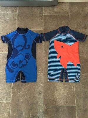 Next Baby Boy Sunsafe Suit Size 12 - 18 Months