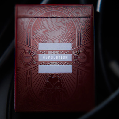 Revolution Playing Cards Deck by Murphy's Magic and Jason Brumbalow