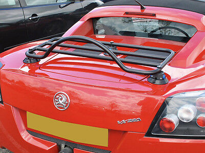 Vauxhall VX220 Luggage Boot Rack Fits All  ; No Clamps No Brackets No Damage
