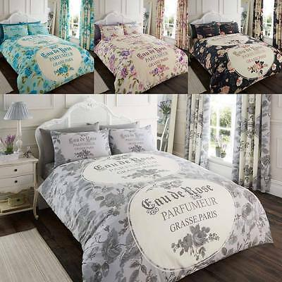 New Duvet Cover With Pillow Cases Bedding Set Single Double King Super King