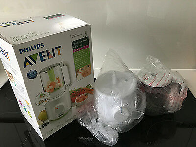 Philips Avent steamer & blender all-in-one - Used only ONCE!